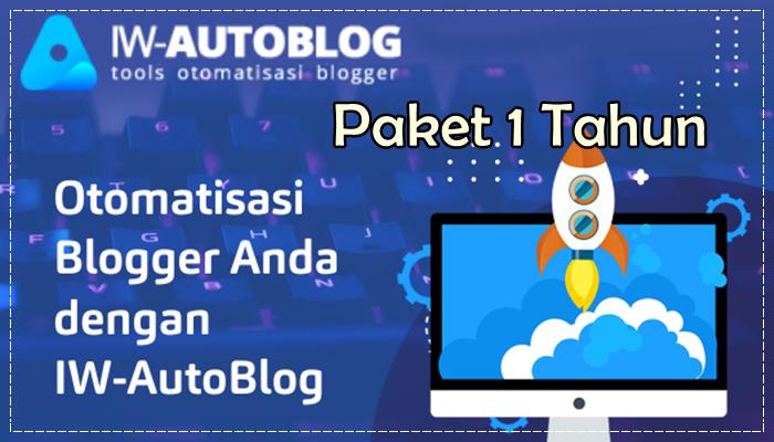 Ilmu Website AutoBlog v1 Paket 1 Tahun