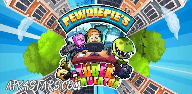 لعبة PewDiePie's Tuber Simulator مهكرة كاملة للأندرويد (اخر اصدار)