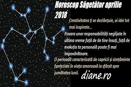 Horoscop aprilie 2018 Săgetător