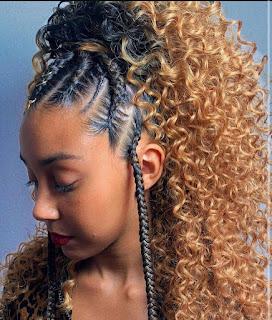 easy african hair braiding styles