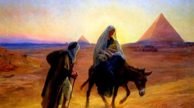 ابوالحجاج العماري يكتب:  24 بشنس مصر بوركة بدخول العائلة  المقدسة