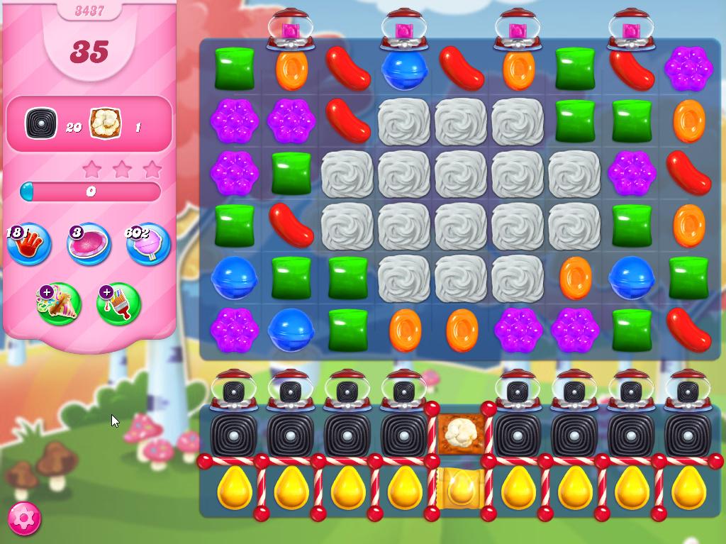 Candy Crush Saga level 3437