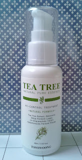 Tosowoong Tea Tree Natural Pure Essence AC Control Treatment
