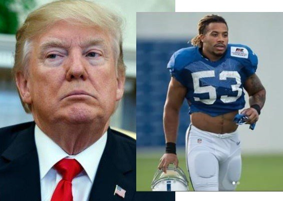 Trump reacts to the death of NFL star Edwin Jackson who was killed by a 'drunk' Illegal Immgrant, threatens strict restriction at the Border.