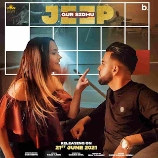 Gur Sidhu Jeep Lyrics Status Download Song Kahdi tere nal duri ji bnali jatt ne sari duniya hi muhre muhre lali jatt ne WhatsApp video black.