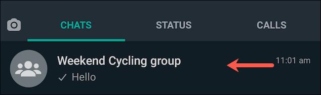 قم بزيارة WhatsApp Group chat