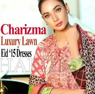 Charizma Luxury Embroidered Lawn Dresses for Eid 2015