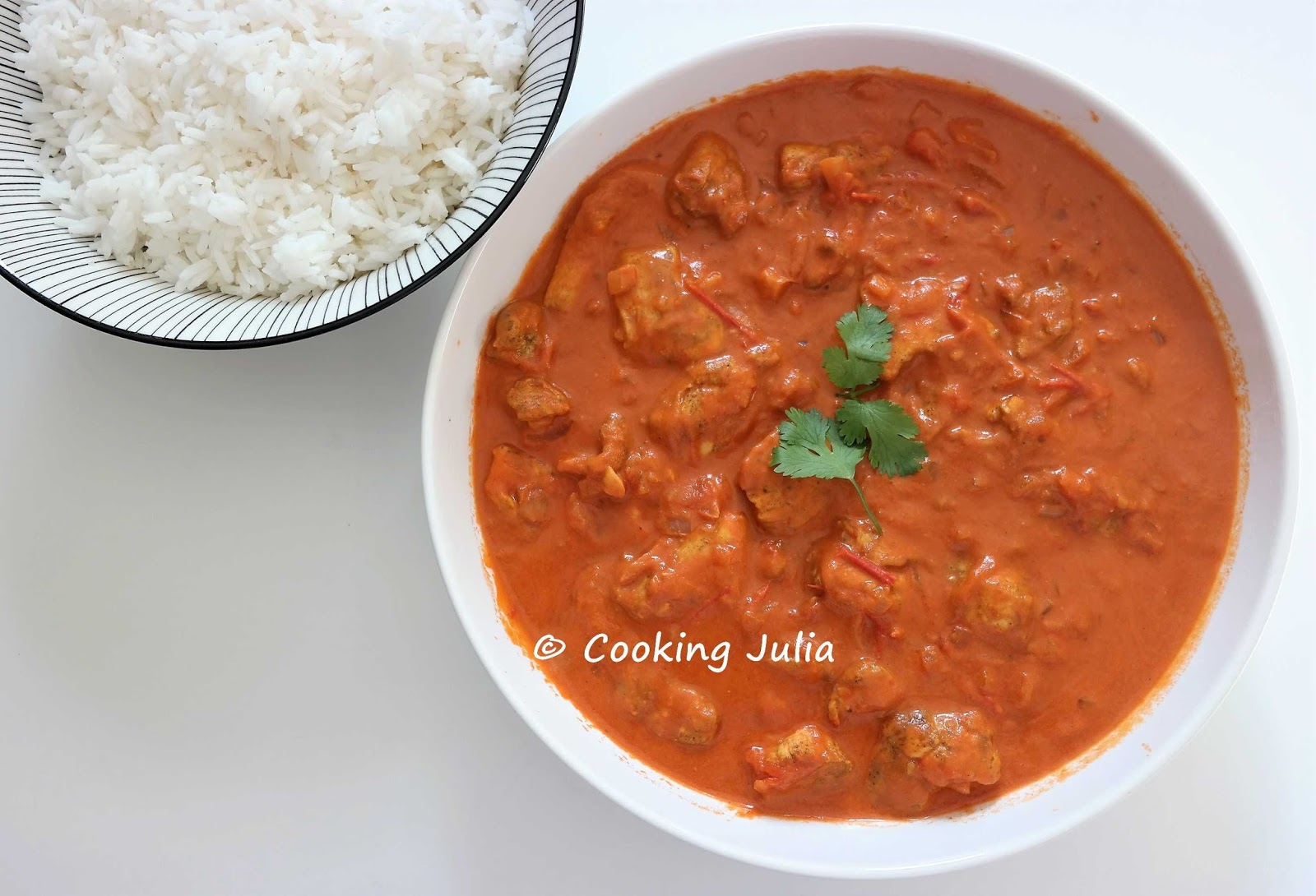 Cooking Julia Poulet Tikka Massala