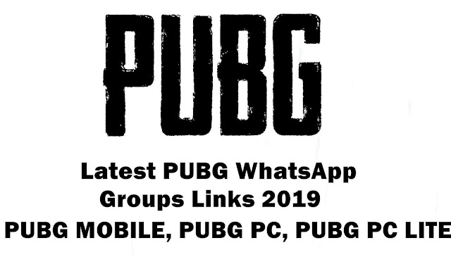 Join PUBG Mobile Whatsapp Groups Link