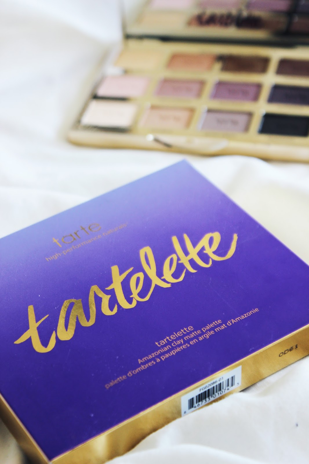 Tarte Tartlette Amazonian Clay Palette Packaging