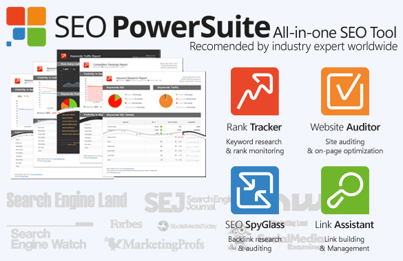 SEO PowerSuite Best All-in-One SEO Tools