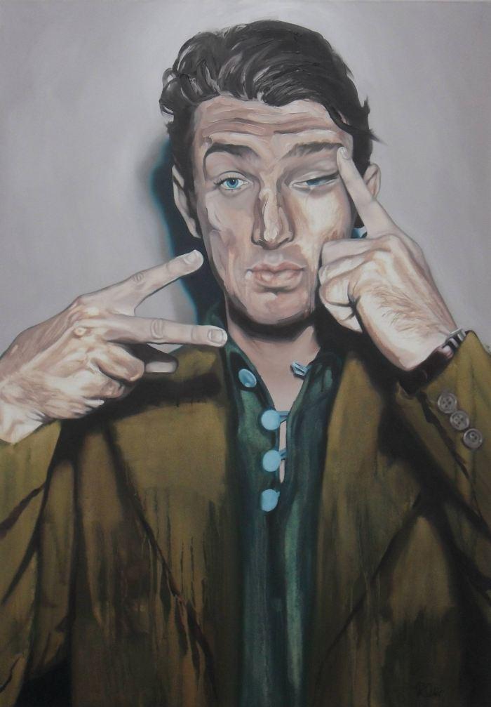 Британский художник. Russell Oliver