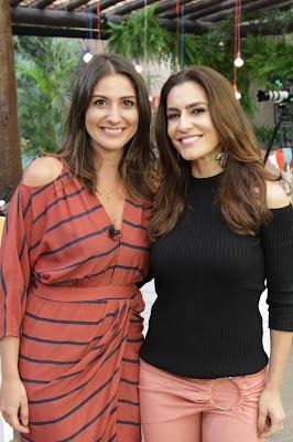 Carol Fiorentino e Ticiana  (Crédito: Gabriel Gabe)