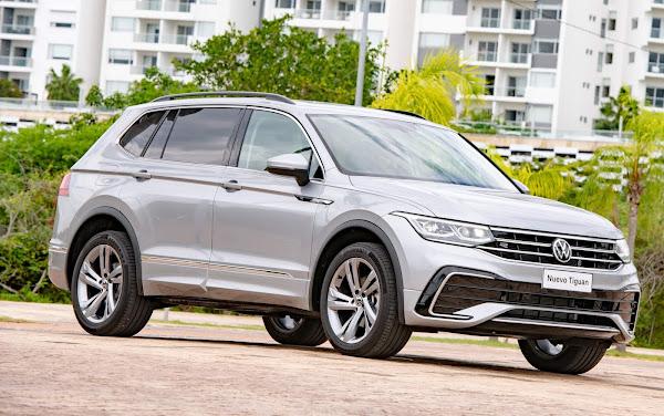Novo Volkswagen Tiguan AllSpace 2022 R-Line