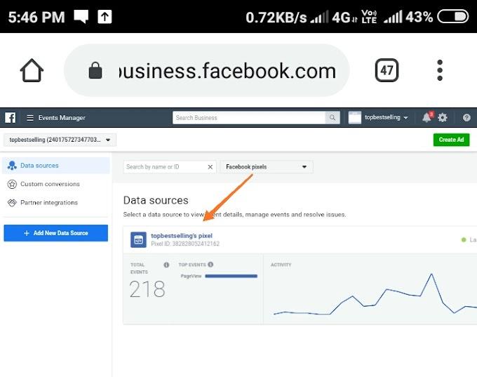 How to create facebook targeting event tracking for blogger post.फेसबुक ईवेंट ट्रैकिंग कैसे क्रिएट करें।
