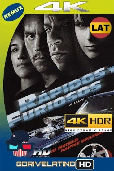 Rápidos y Furiosos 4 (2009) BDRemux 4K HDR Latino-Ingles MKV