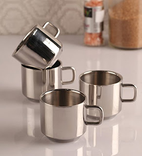 Stainless Steel Tea & Coffee Cup