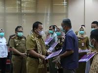 Kunker Ke Lampung Selatan, Gubernur Lampung Serahkan Bantuan Puluhan Ribu Ternak Unggas