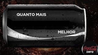 Latinha Coca Zero para Colocar nome
