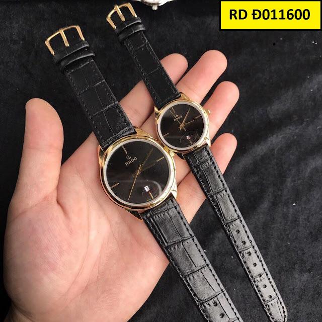 Đồng hồ dây da RD Đ011600