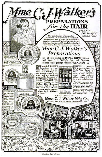 Madam C.J. Walker - Preparations for the Hair