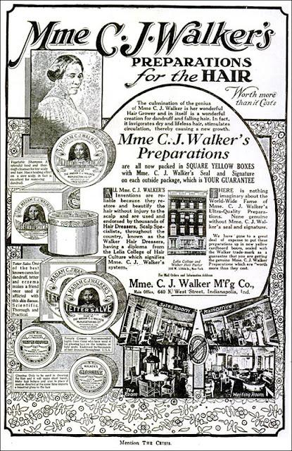 Madam C.J. Walker - Preparations for the Hair