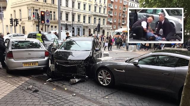 London: Mann rast mit Auto in Menschenmenge – Viele Verletzte