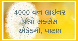 4000 General Knowledge (GK) One Liner Questions PDF Book Download By Success Academy Patan