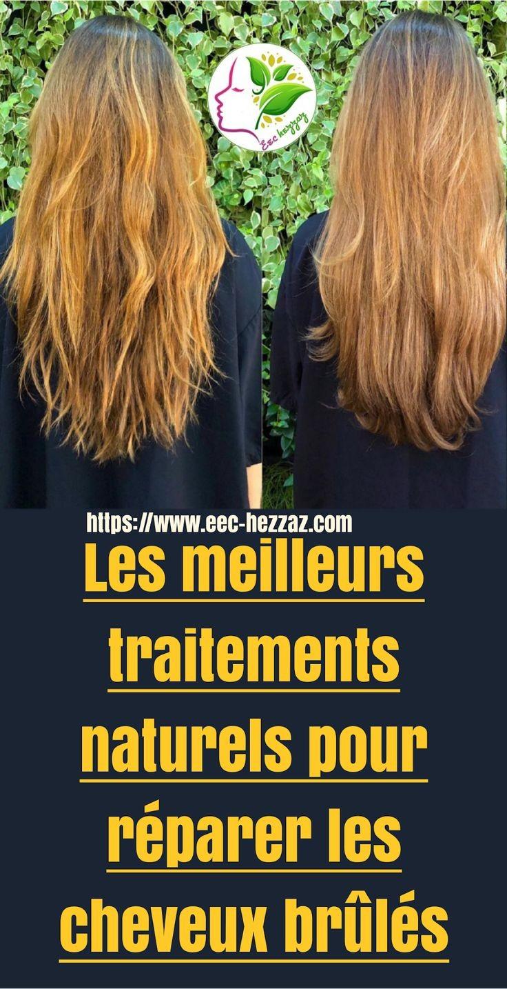 Les meilleurs traitements naturels pour réparer les cheveux brûlés