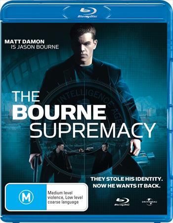 The Bourne Supremacy 2004 Dual Audio Hindi Bluray Download