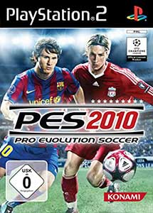 Pro Evolution Soccer 2010 PS2 ISO (Pal-Ntsc) (Castellano)