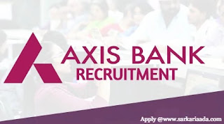 Axis Bank Recruitment Apply at axisbank.in