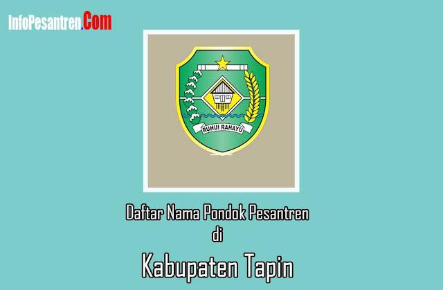 Pondok Pesantren di Kabupaten Tapin