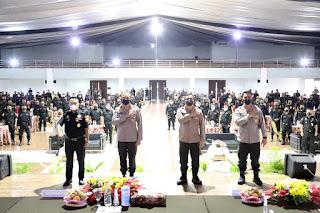 Polda Jateng Beri Dukungan Untuk Pelatihan Tracer Covid-19 Pada 201 Anggota Senkom Mitra Polri