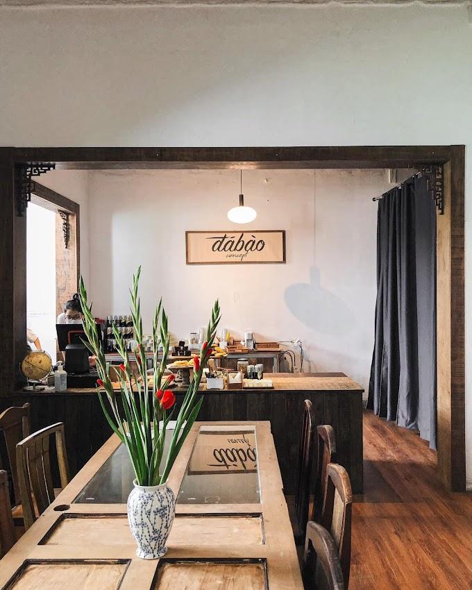 Đá Bào Concept Quận 1 - Quán cafe mang phong cách Đại Cồ Việt