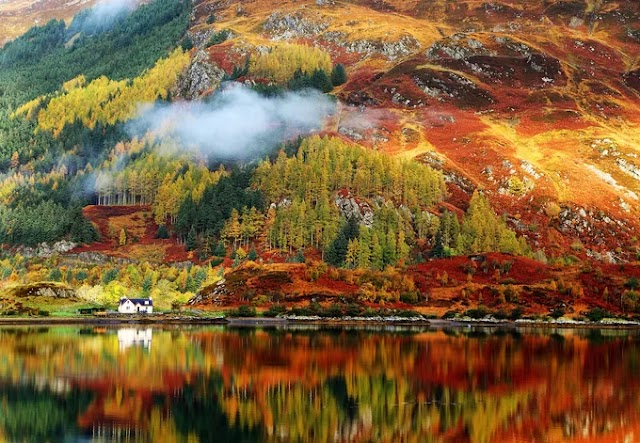 The most beautiful destinations in Europe to see the yellow and red leaves