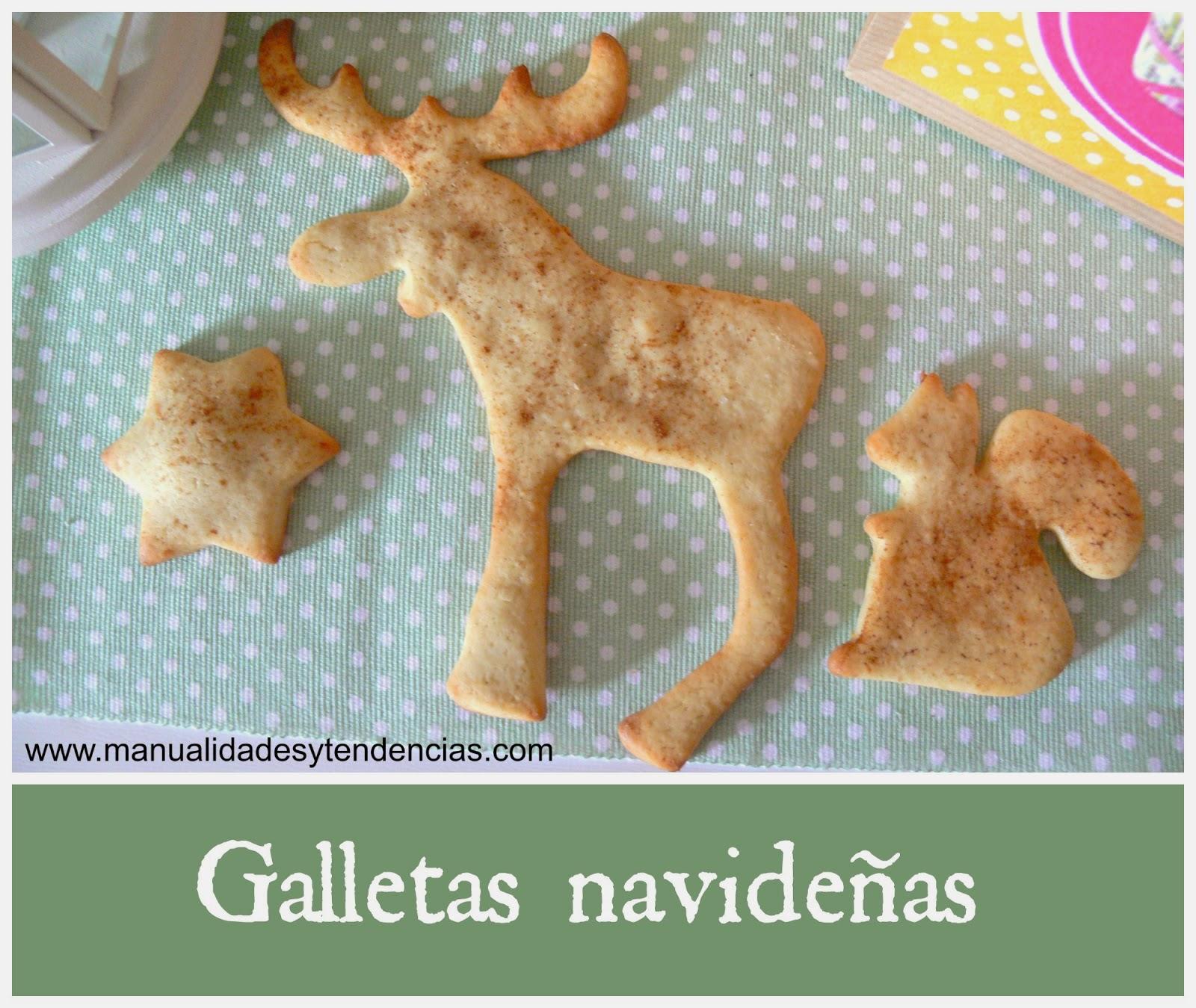 receta galletas navideñas fáciles