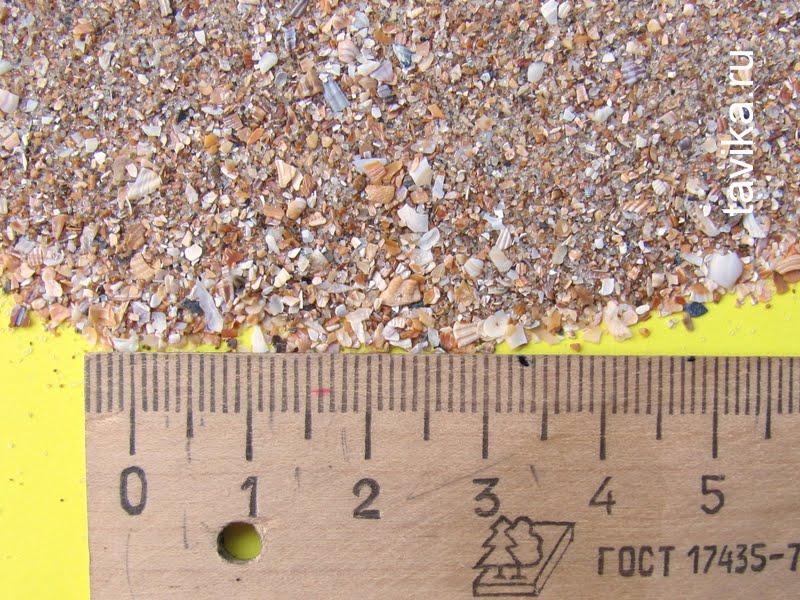Песок из Казантипа