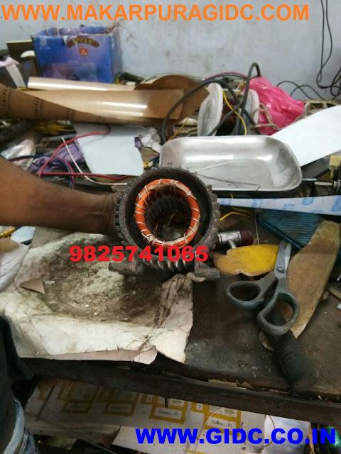 Electrical Motor Rewinding - Makarpura GIDC Vadodara