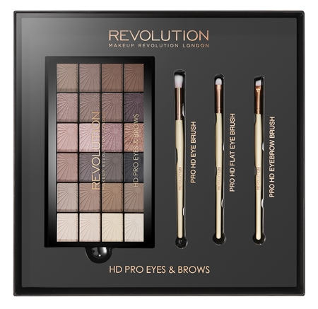Makeup Revolution HD Pro Eyes & Brows Gift Set