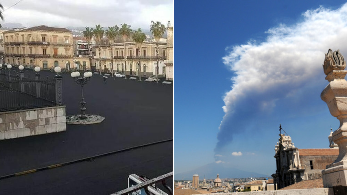 5 milioni euro cenere vulcanica Regione Siciliana