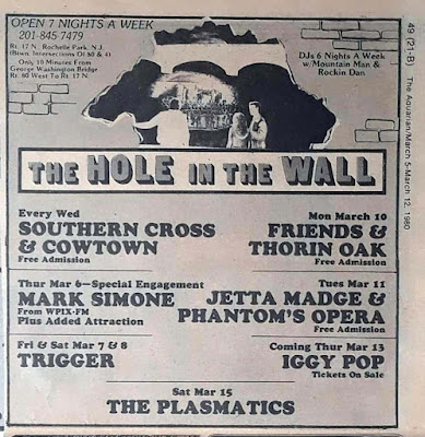 The Hole In The Wall band line up