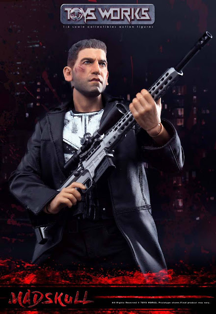 osw.zone Toys Works 1/6th scale MadSkull 12-inch action figure Jon Bernthal as Frank Castle / Punisher