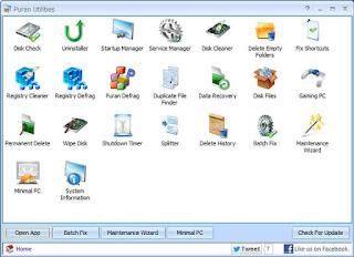 أفضل برنامج لتسريع الكمبيوتر وتنظيفه مجاني - Download Puran Utilities  -
