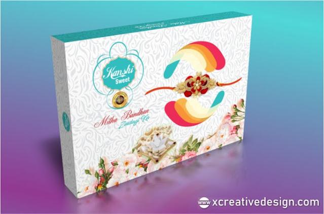 rakhi sweets box designs