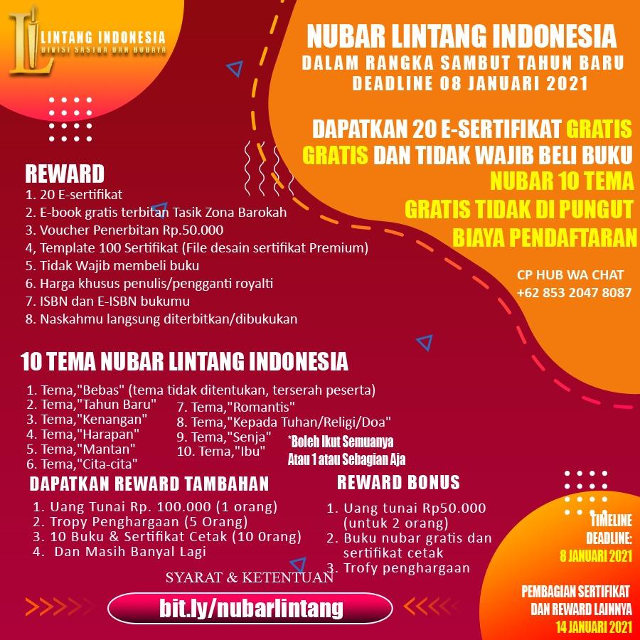 NUBAR PUISI LINTANG INDONESIA