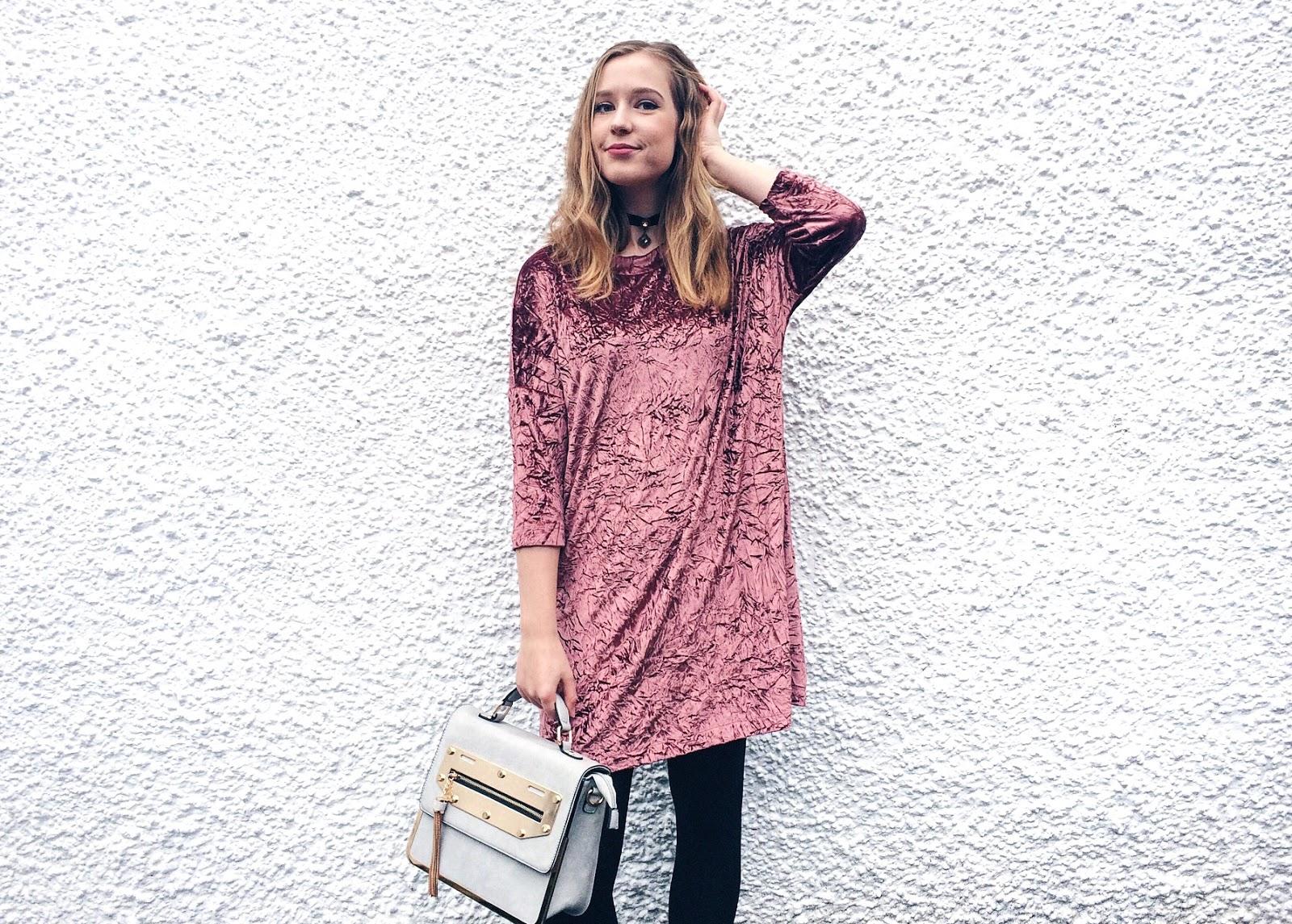 Velvet Winter Outfit