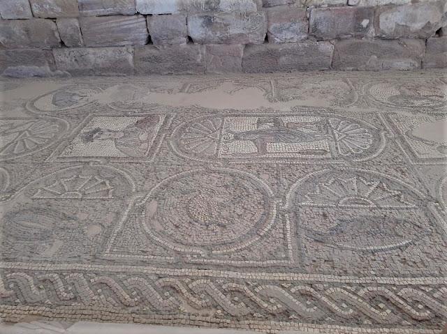mosaico chiesa petra