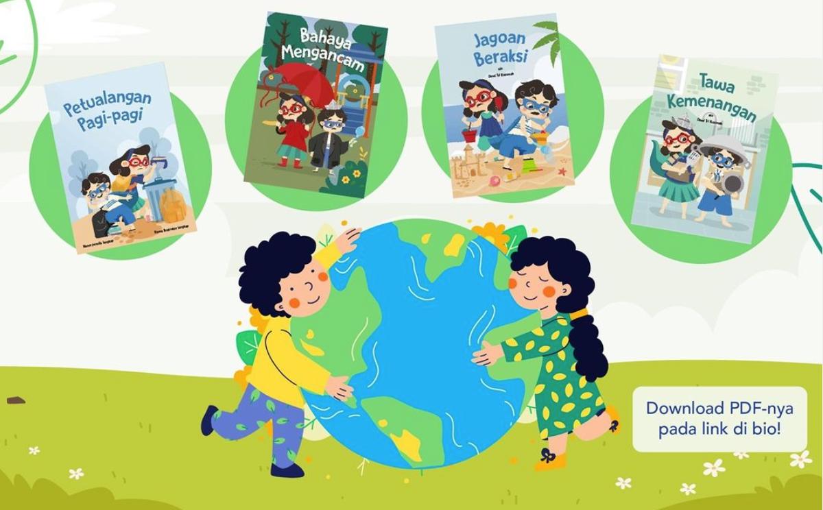 Bagaimana cara meningkatan minat baca pada anak