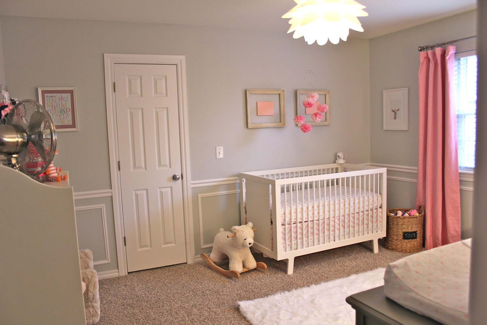 Oh So Bright Finished Nursery